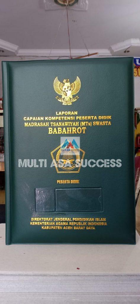 Sampul Raport K13 Medan