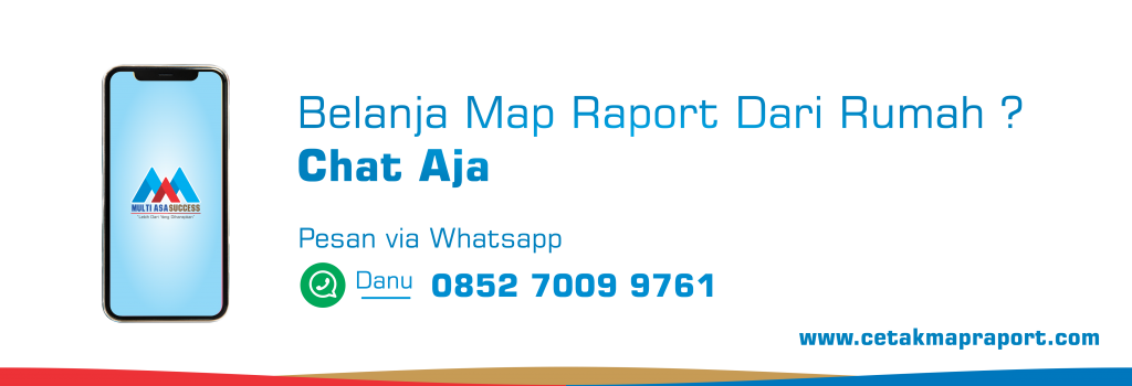 Cara Pesan Map Raport