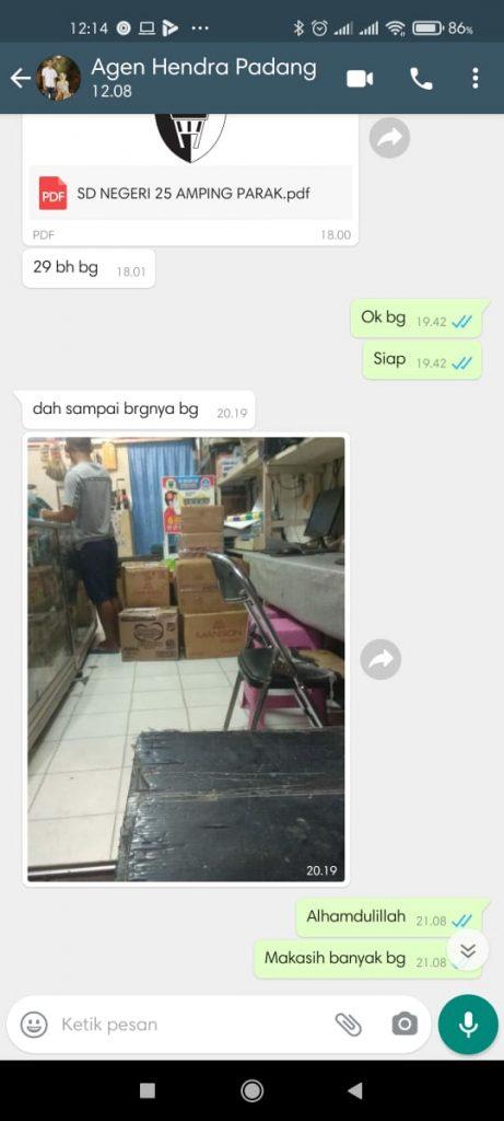 Sampul Raport K13 Padang
